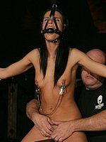 blindfold and bondage porn